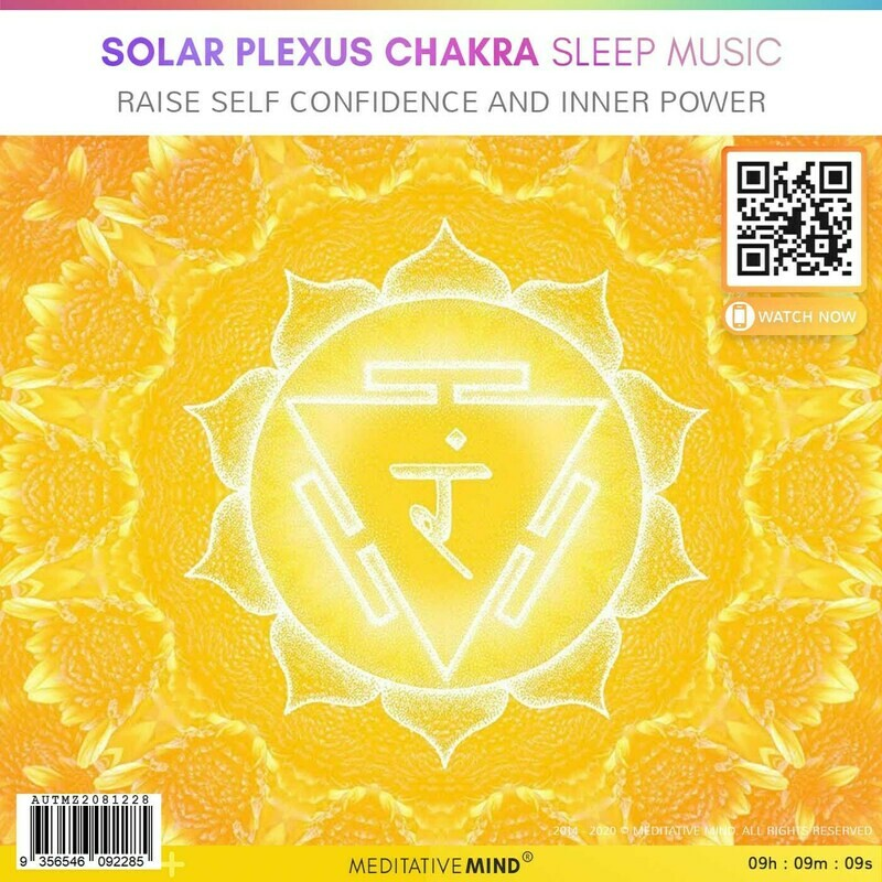 SOLAR PLEXUS CHAKRA Sleep Music - Raise Self Confidence and Inner Power