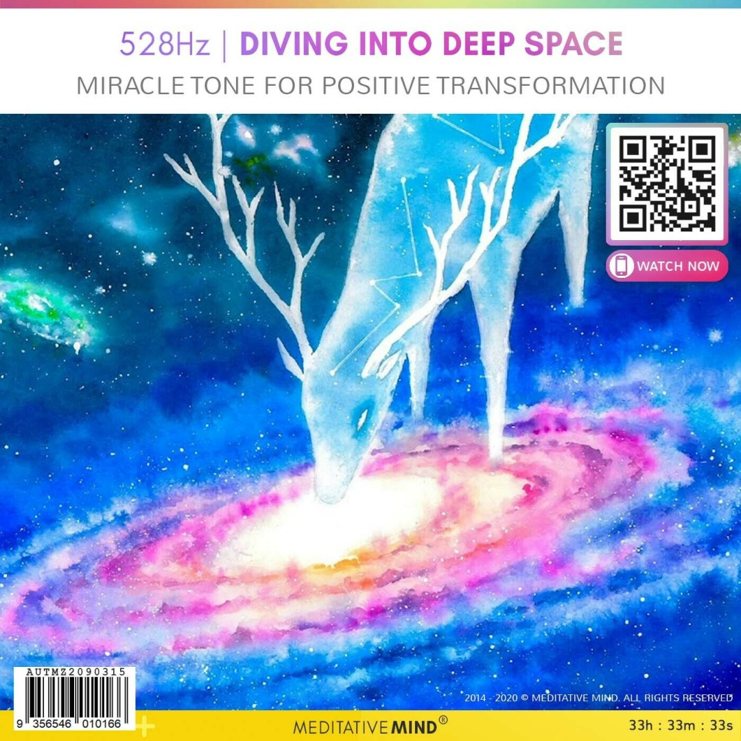 528Hz | Diving Into Deep Space - Miracle Tone for Positive Transformation
