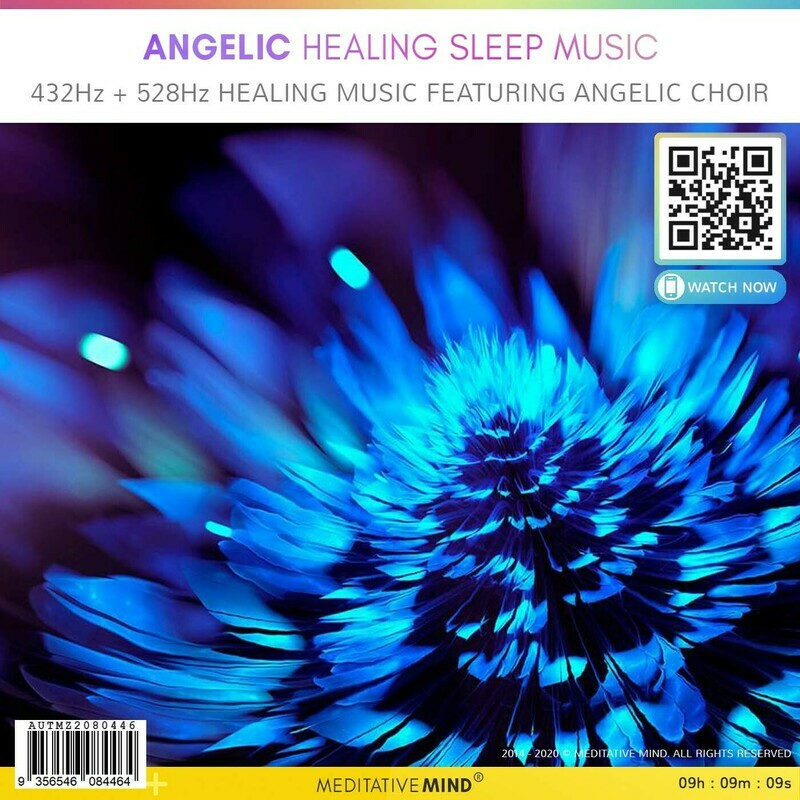 Angelic Healing Sleep Music - 432Hz + 528Hz Healing Music featuring Angelic Choir