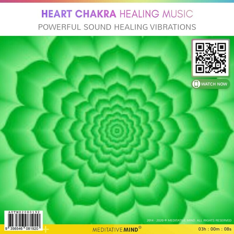 Heart Chakra Healing Music - Powerful Sound Healing Vibrations