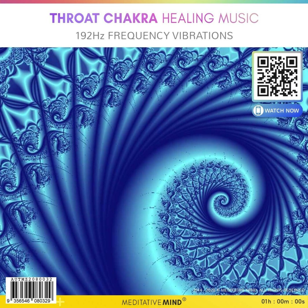 Throat Chakra Healing Music - 192Hz Frequency Vibrations