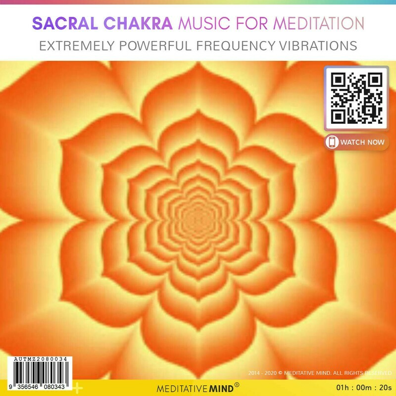 Sacral Chakra Music for Meditation - Extremely Powerful Frequency Vibrations