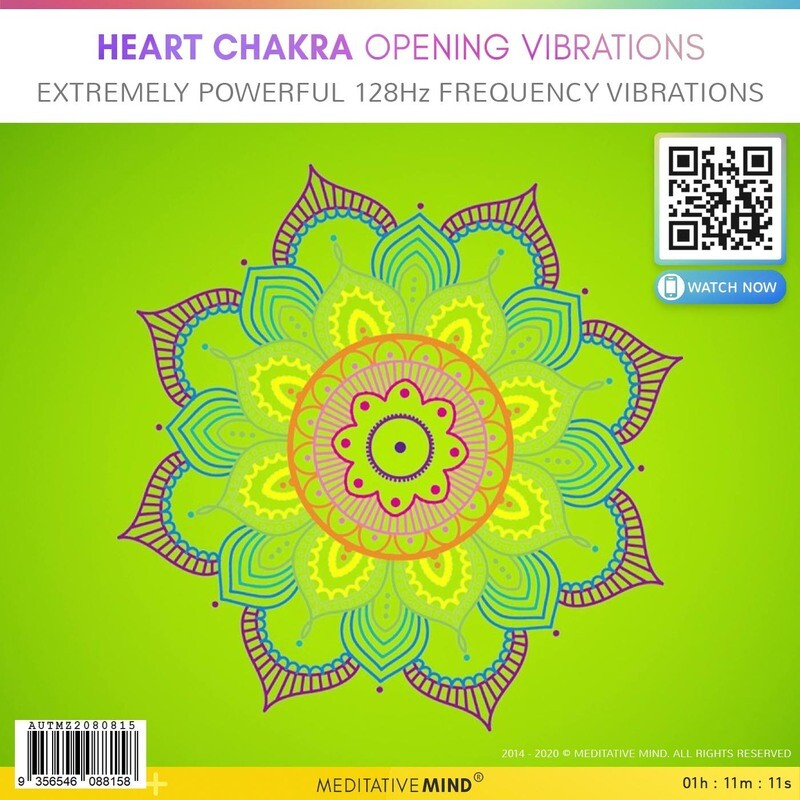 Heart Chakra Opening Vibrations - Extremely Powerful 128Hz Frequency Vibrations