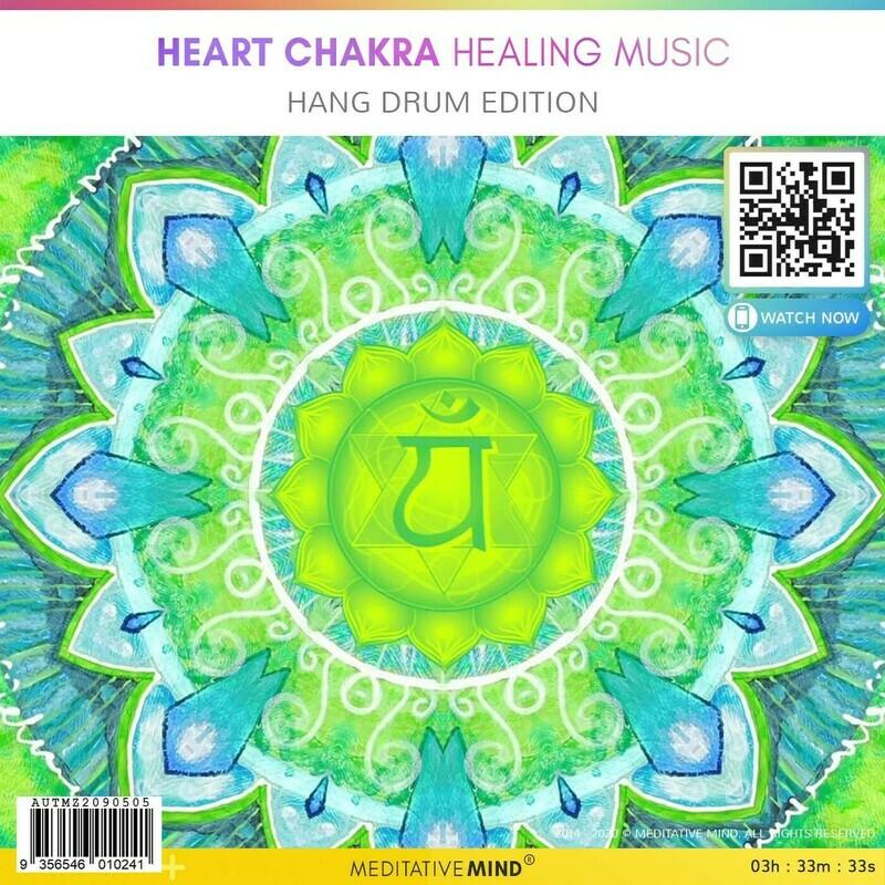Heart Chakra Healing Music - Hang Drum Edition