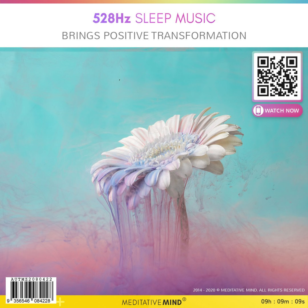 528Hz Sleep Music - Bring Positive Transformation