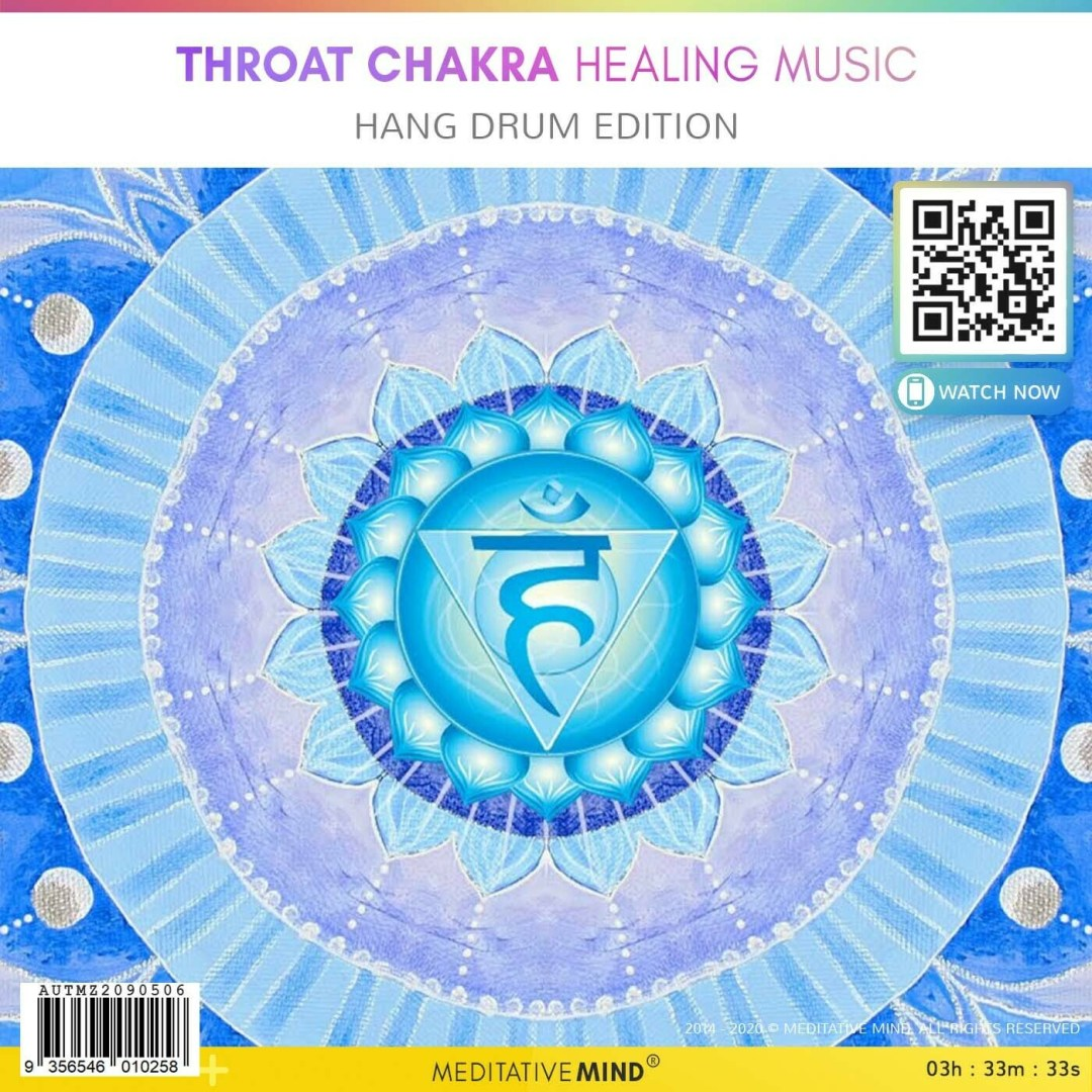 Throat Chakra Healing Music - Hang Drum Edition