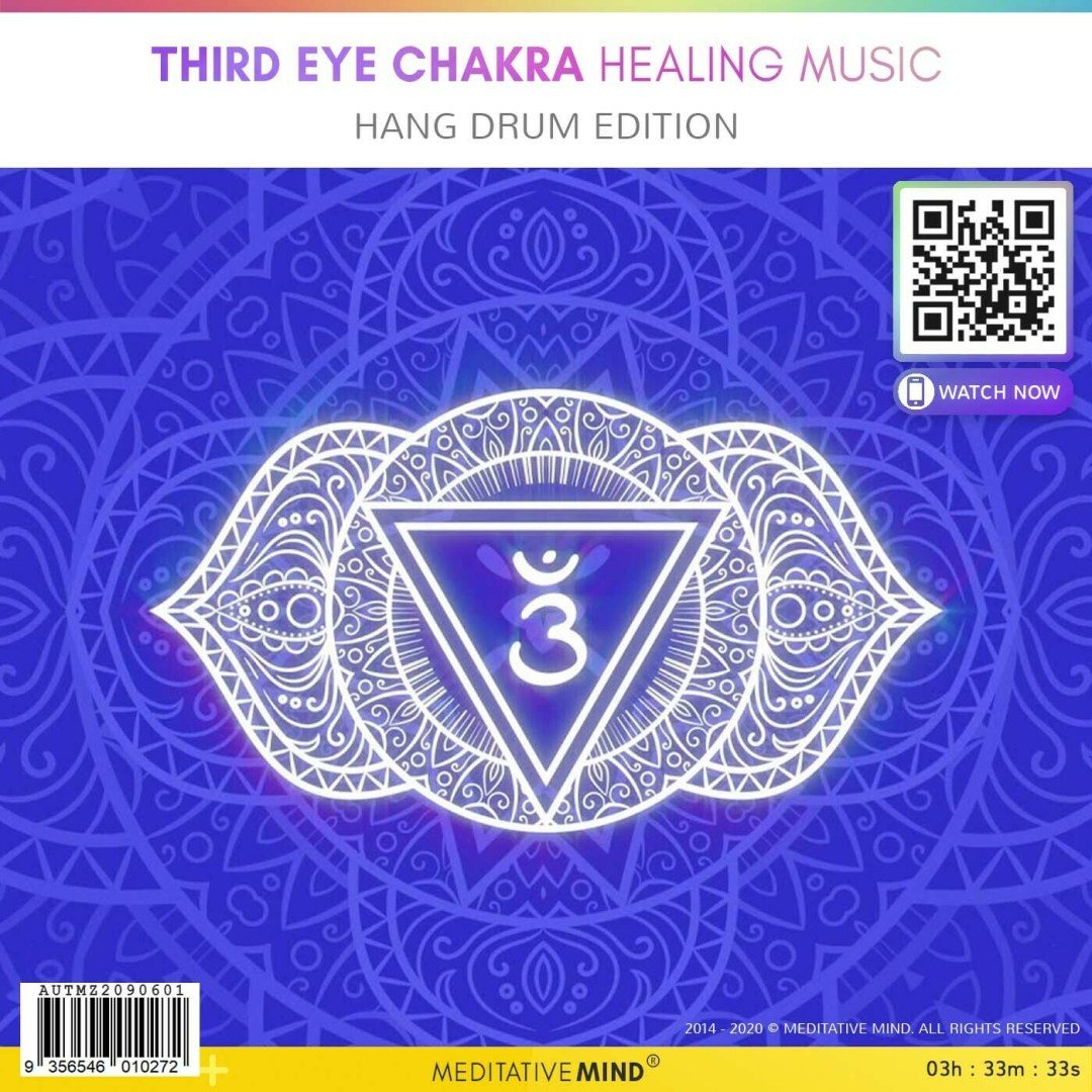 Third Eye Chakra Healing Music - Hang Drum Edition