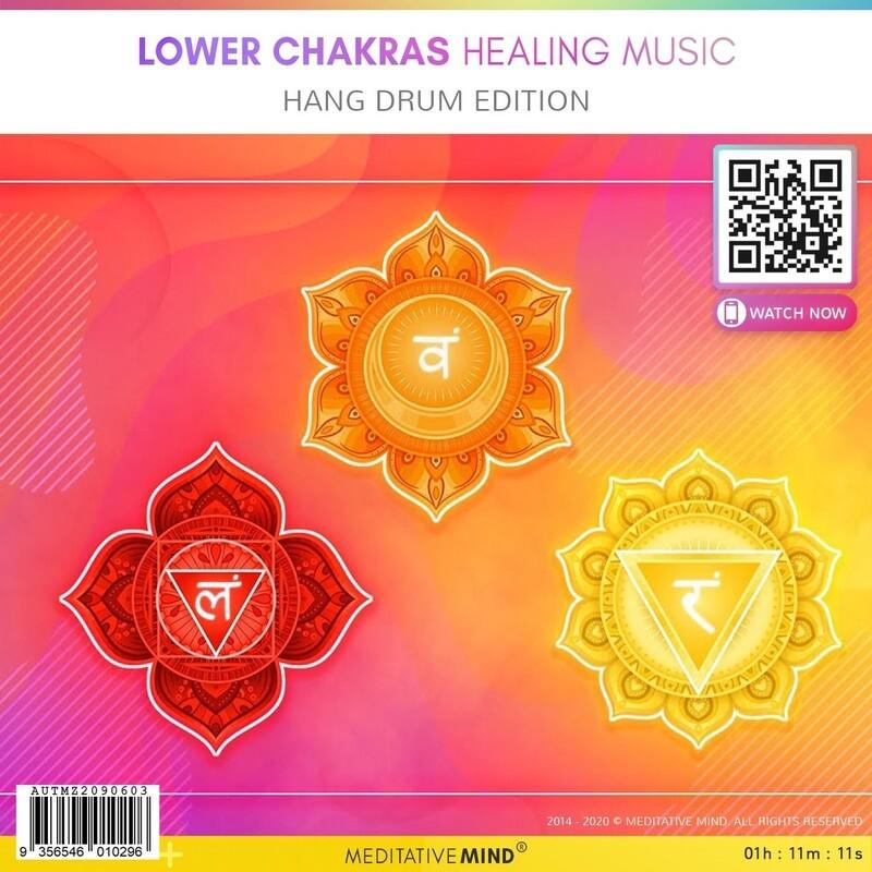 Lower Chakras Healing Music - Hang Drum Edition