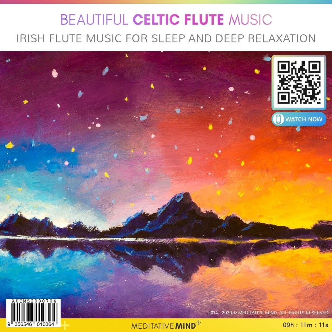 Beautiful Celtic Flute Music - Irish Flute Music for Sleep and Deep Relaxation