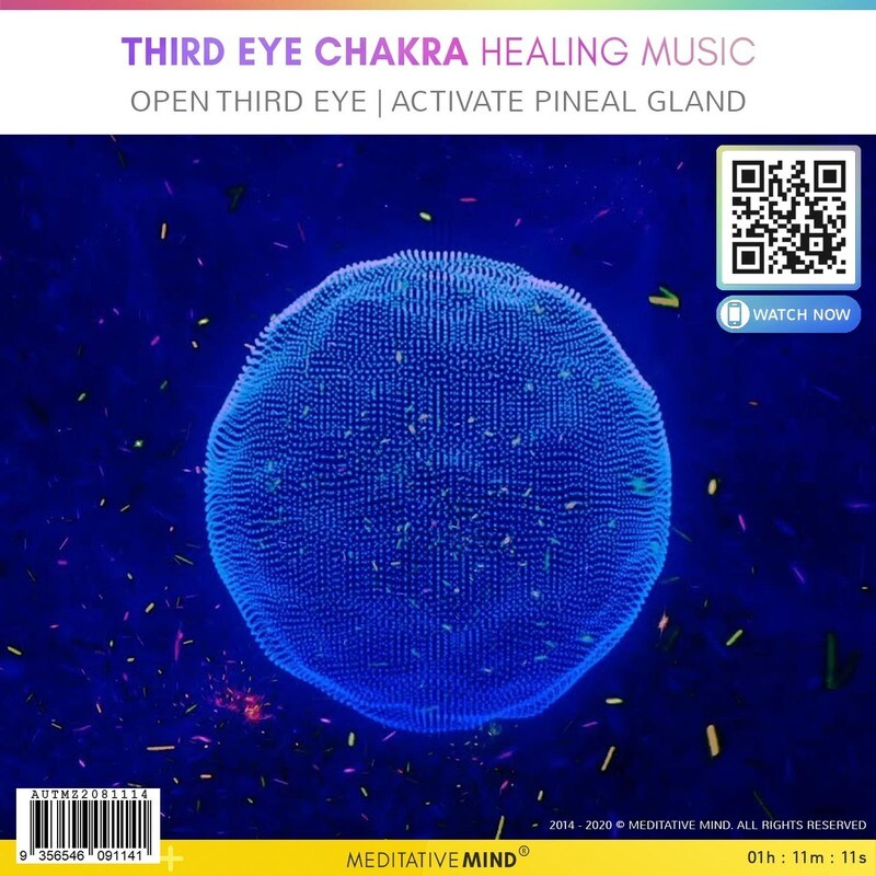 THIRD EYE CHAKRA HEALING MUSIC - Open Third Eye  Activate Pineal Gland