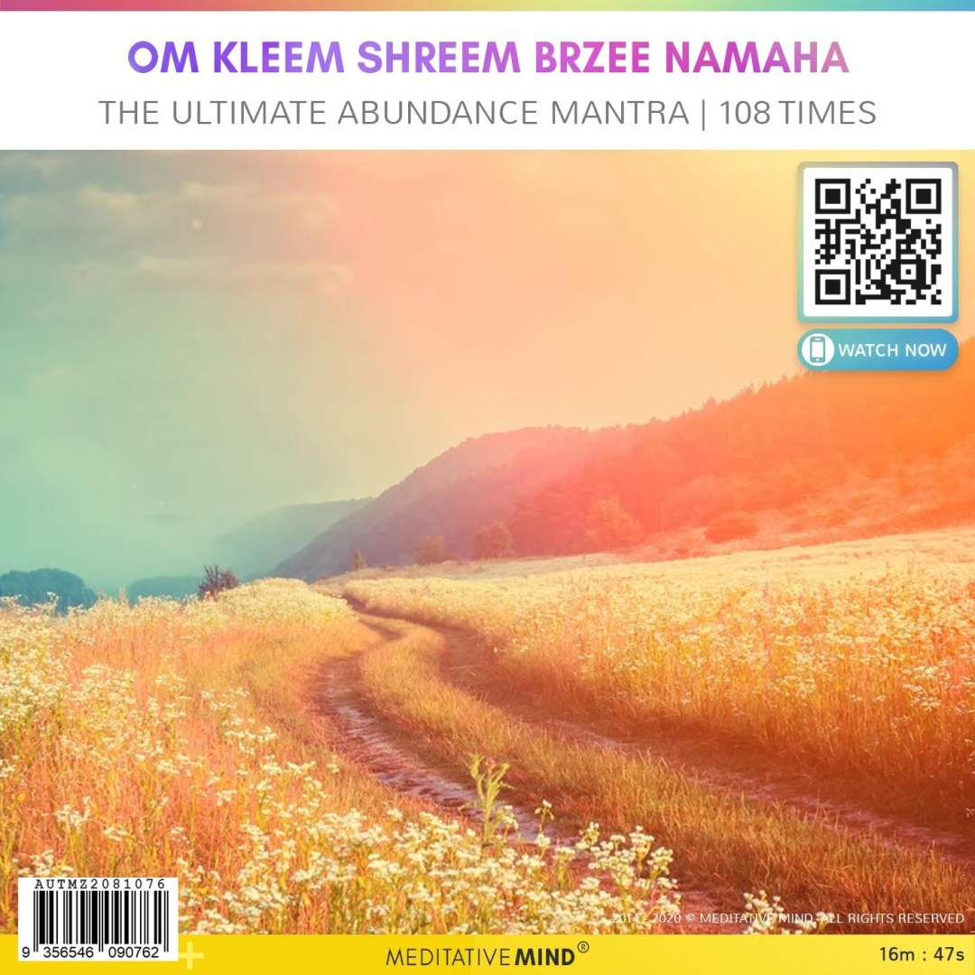OM KLEEM SHREEM BRZEE NAMAHA - The Ultimate Abundance Mantra - 108 Times