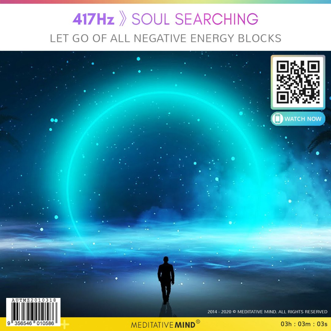 417Hz 》 Soul Searching - Let Go of all Negative Energy Blocks