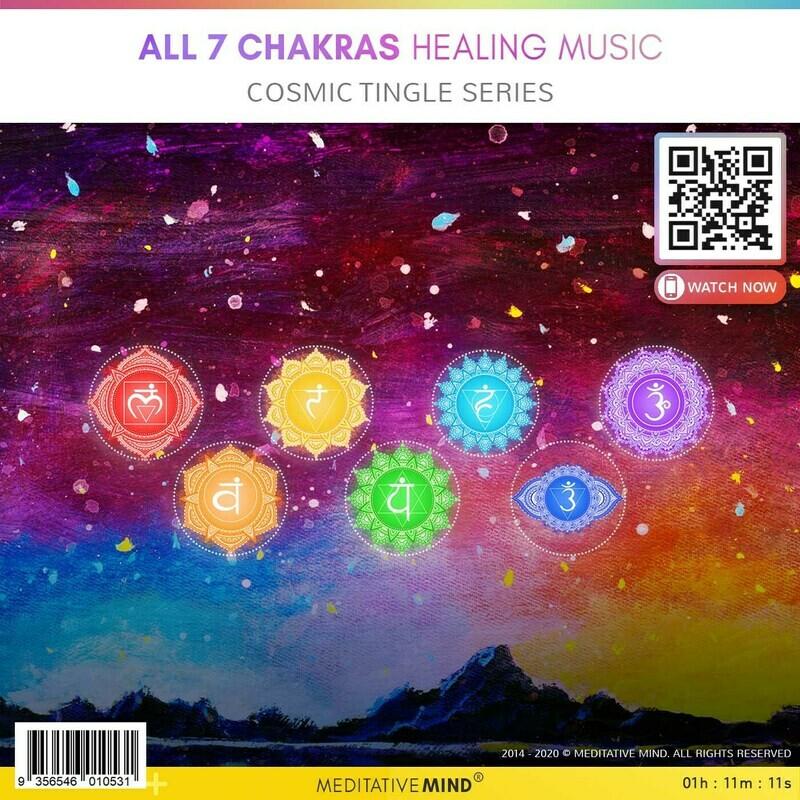 All 7 Chakras Healing Music - Cosmic Tingle Series