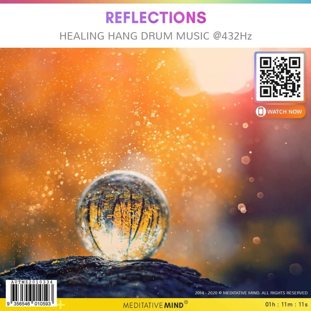 Reflections - Healing Hang Drum Music @432Hz