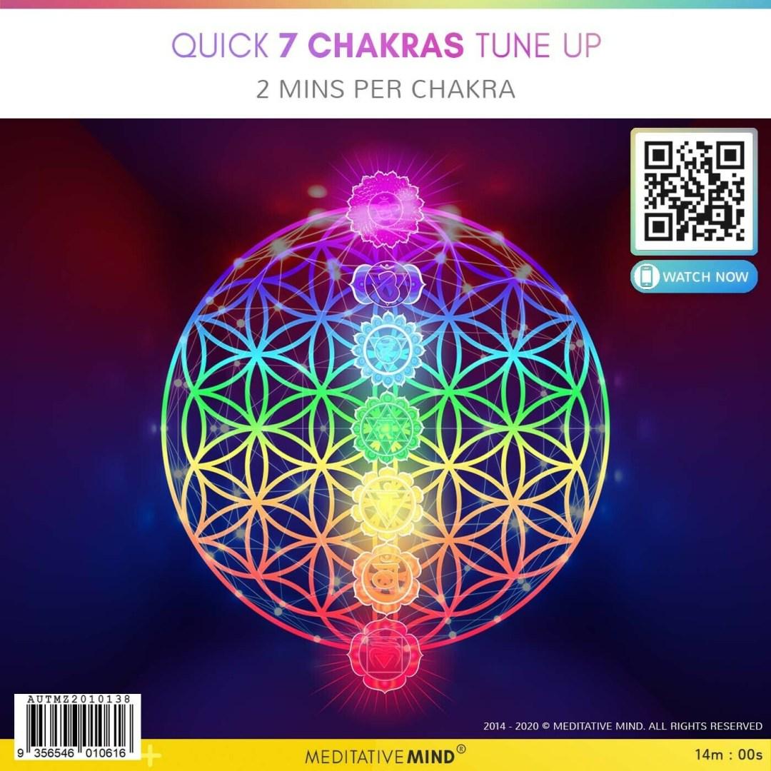 Quick 7 Chakras Tune UP - 2 Min Per Chakra