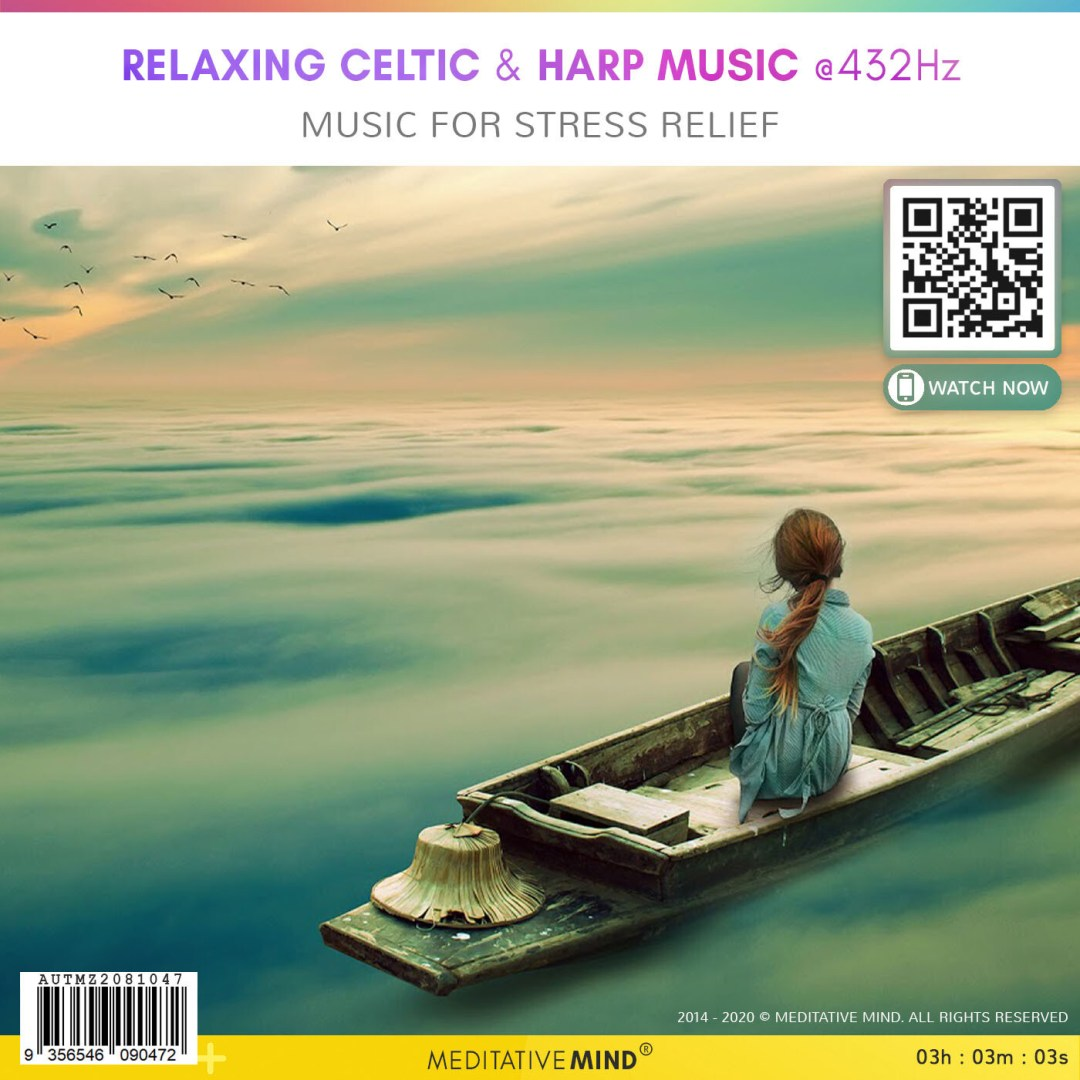 Relaxing Celtic & Harp Music @432Hz - Music For Stress Relief