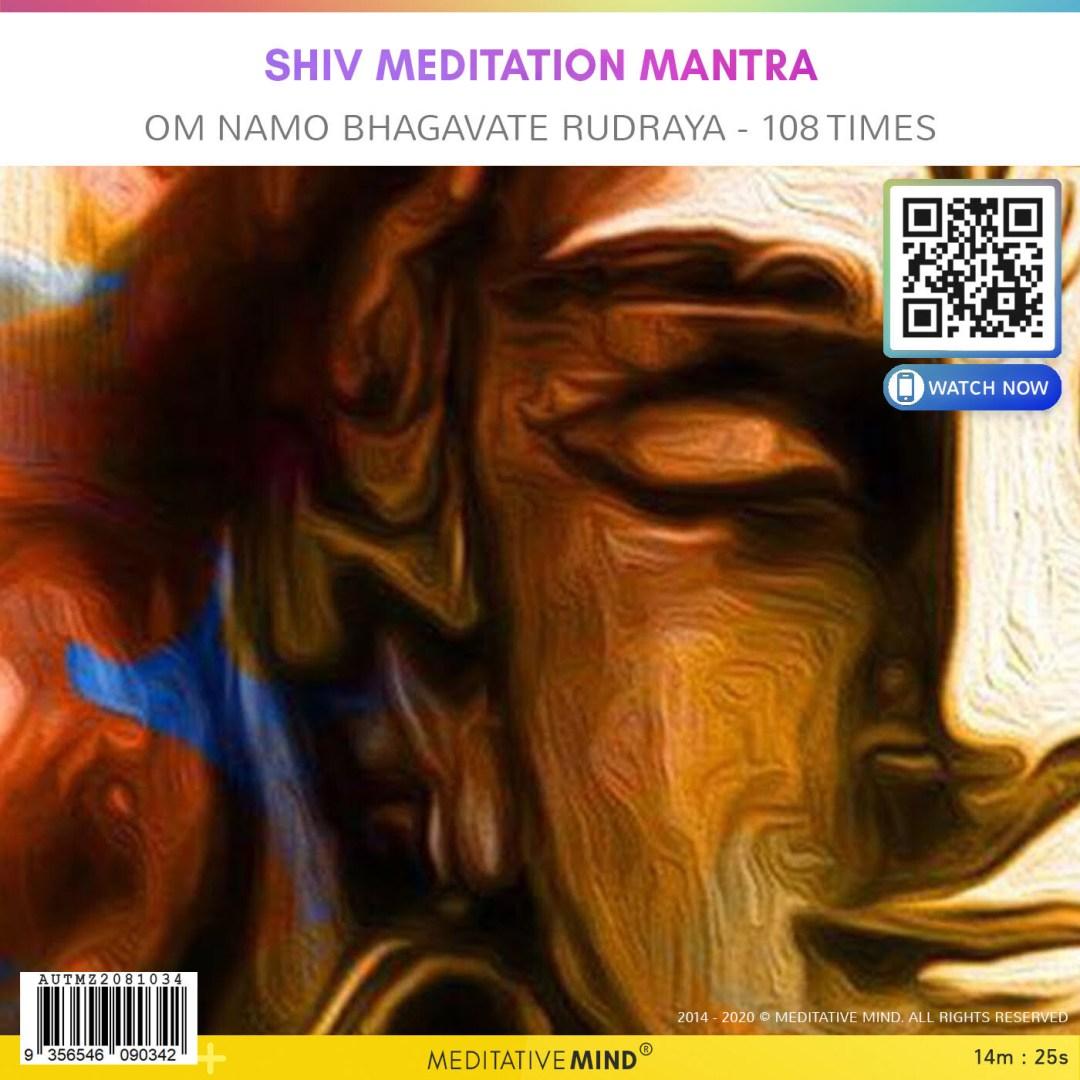 Shiv Meditation Mantra - Om Namo Bhagavate Rudraya - 108 Times