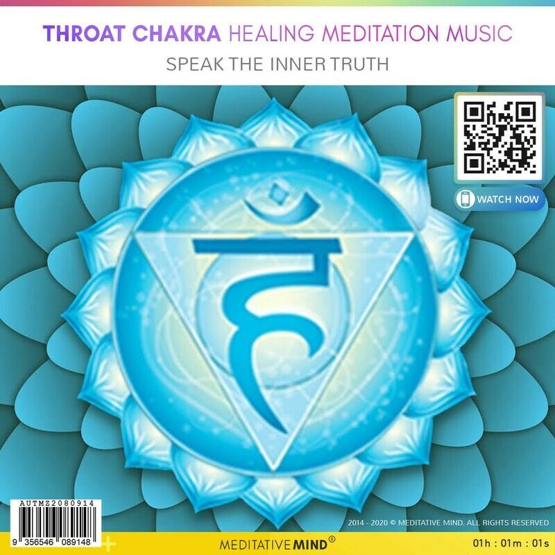 Throat Chakra Healing Meditation Music - Speak the inner truth