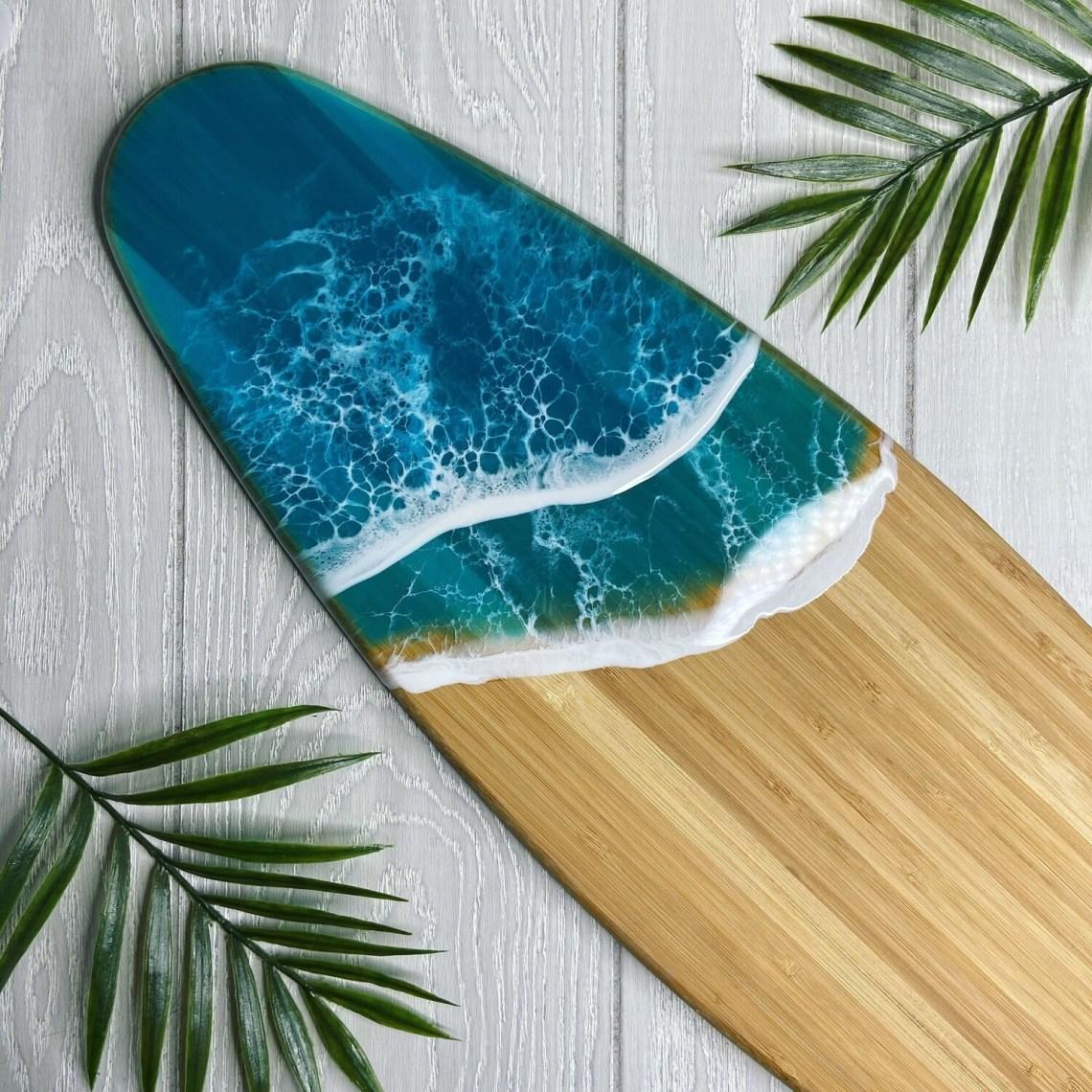 Resin Wave Surfboard
