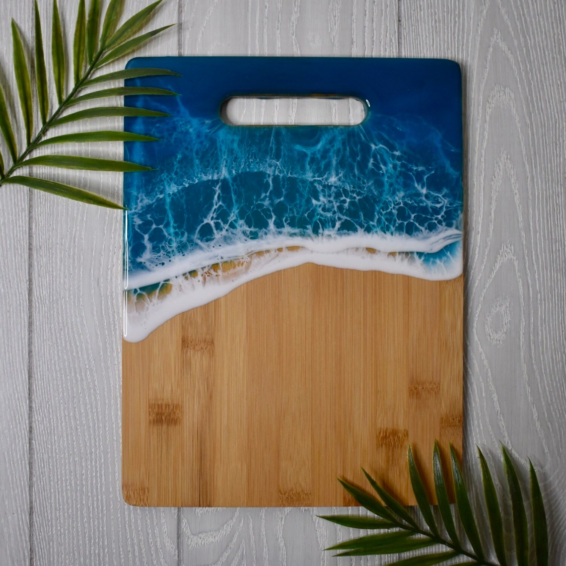 Resin Bamboo Cutting Board - I