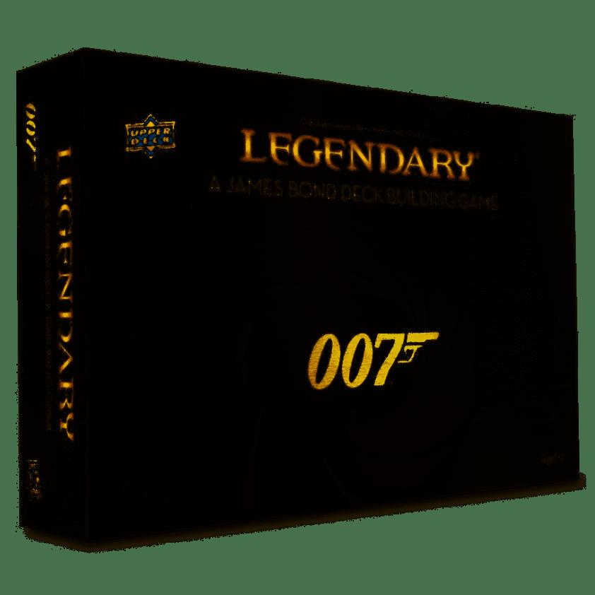 Legendary 007 A James Bond Deck Building Game