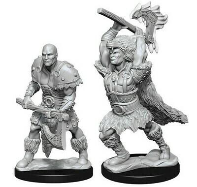 D&D Male Goliath Barbarian