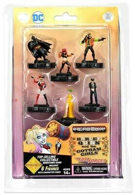 DC Heroclix: Harley Quinn and the Gotham Girls Fast Forces