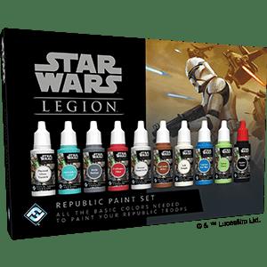 Star Wars Legion Republic Paint Set
