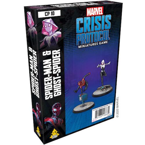 Marvel Crisis Protocol Spider Man &Ghost Spider