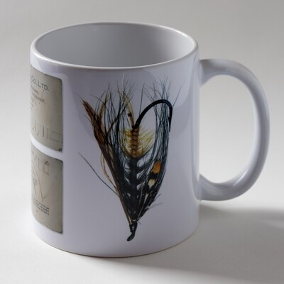 Akroyd Salmon Fly Mug - Version 2