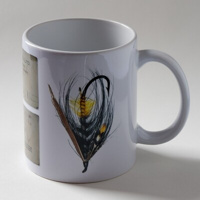 Akroyd Salmon Fly Mug - Version 3
