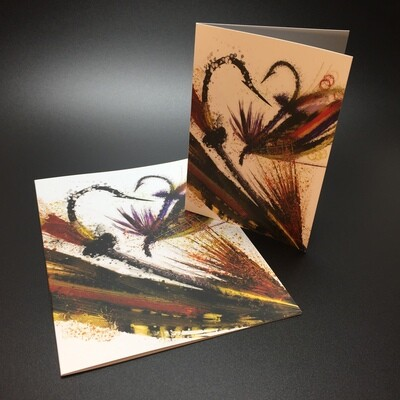 Luxury Fishing Fly Art Greetings Cards Pack