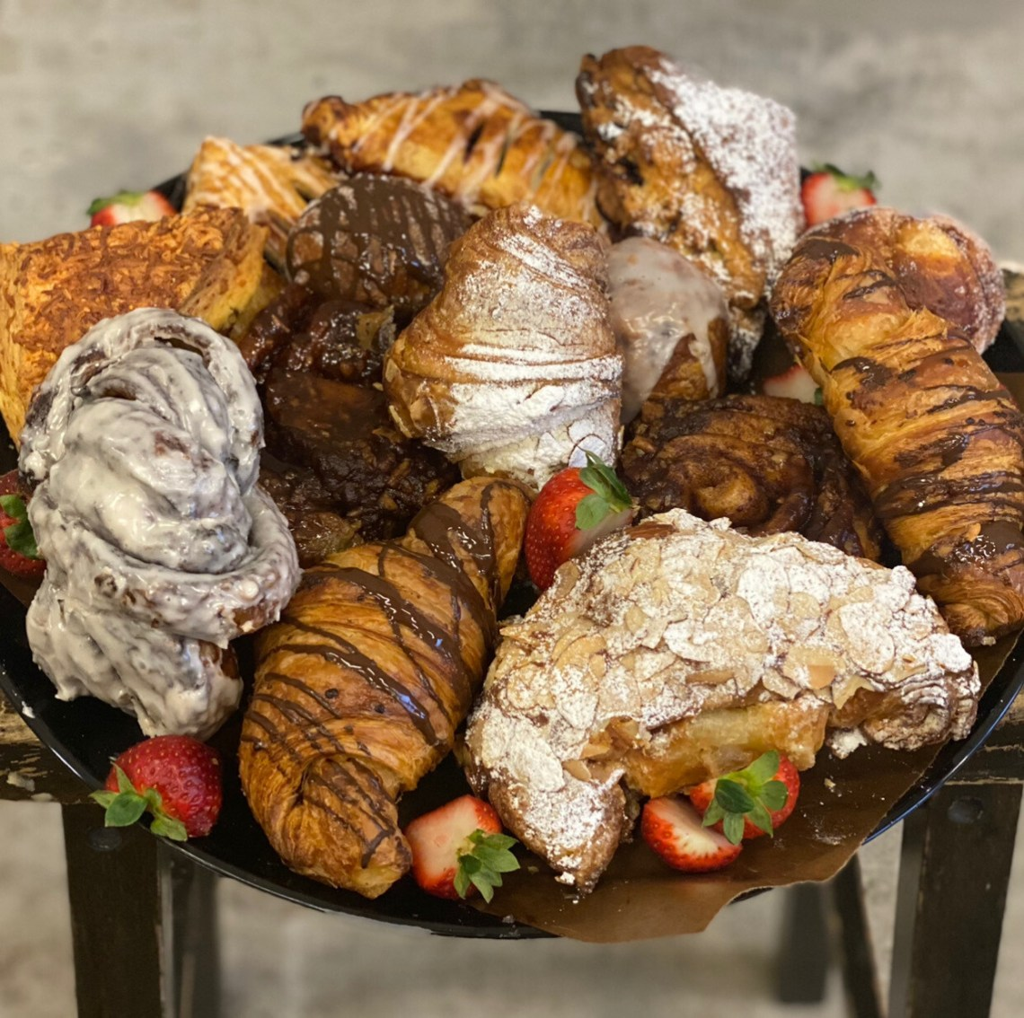 Large Pastry Platter