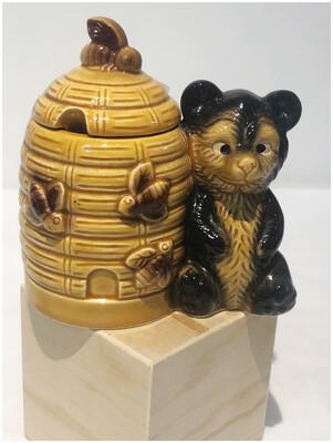 Vintage Honey Bear Jar