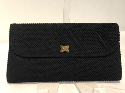 Vintage Little Black Clutch