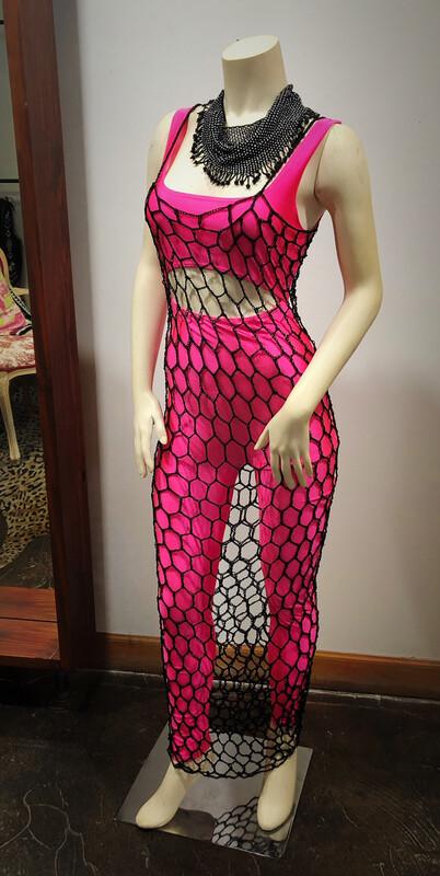 Crocheted Body Dress