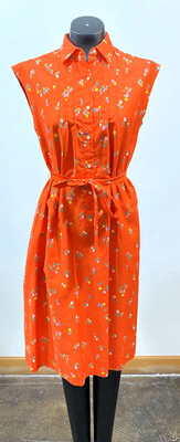 Vintage 1970's Malia Belted Dress