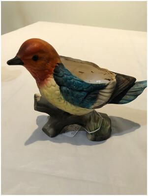 Vintage Bird Planter
