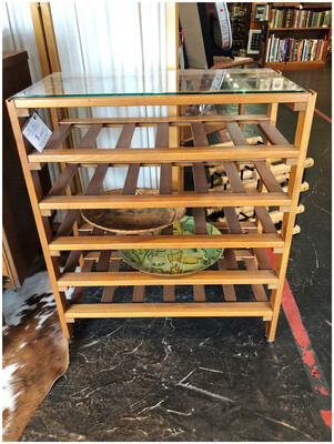 Mid Century Wine Rack