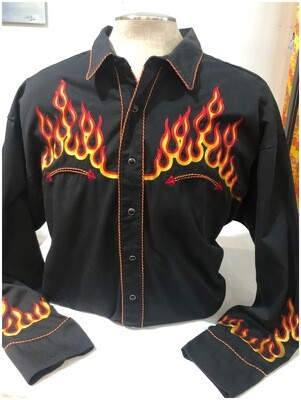 Men's Panhandle Slim Retro Western Shirt