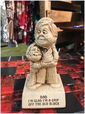 1974 Father Figurine, Made by Paula