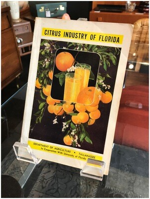 1949 Citrus Industry of Florida, Department of Agriculture