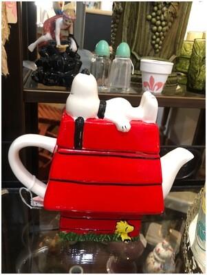 Snoopy & Woodstock Tea Pot