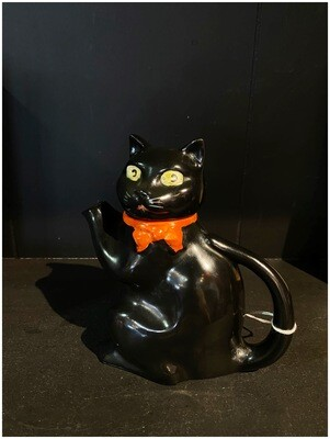 1930's Ceramic Black Cat Teapot, Made in England