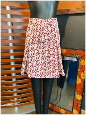 Vintage Mod Mini Skirt