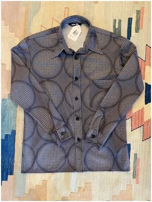 Men's Star 69 Geo Pattern Shirt