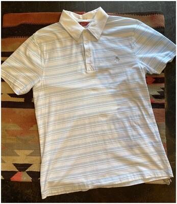Vintage Men's Short Sleeve Penguin Shirt