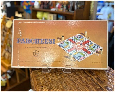 Vintage 1967 Parcheese Gold Seal Edition Game