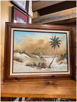 Vintage Y. Tony Oil Painting