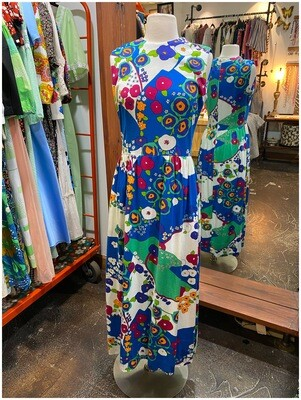 Vintage Mod Maxi with Pockets
